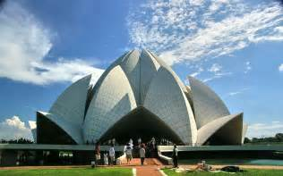 Lotus Temple Bahai Temple Lotus Temple Tourist Attractions In Delhi