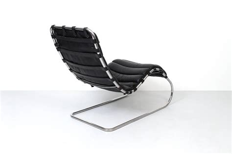 mies chaise mies mr chaise lounge chair for knoll for sale at 1stdibs