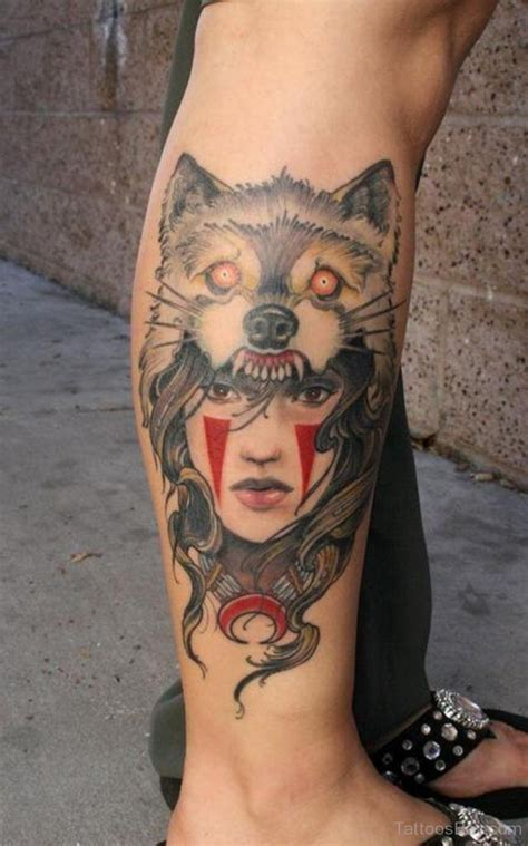 tattoo girl animal head wolf tattoos tattoo designs tattoo pictures