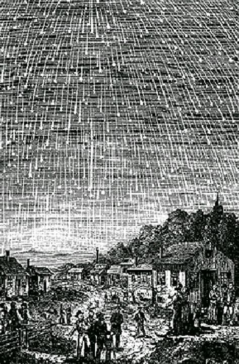 Meteor Shower Of 1833 by The The Fell A Lecture By Horrigan