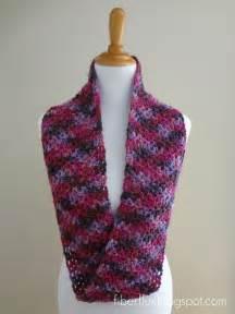 Fiber flux free crochet pattern gelato infinity scarf