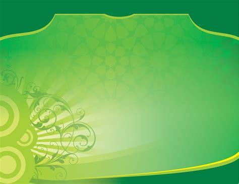 background islami warna hijau contoh banner isro miraj