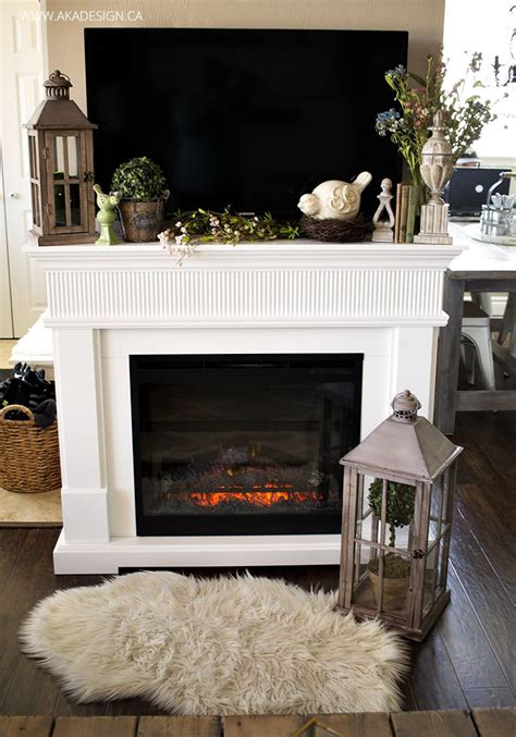 Decorating Fireplace With Tv It by Best 25 Mantle Decorating Ideas On