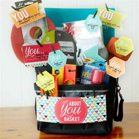 gifts for all quot all about you quot basket