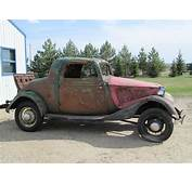 Poll Say You Bought This 1934 Ford 3 Window  Hotrod