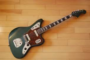 Fender Jaguar Green Mam Studio