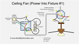 ceiling fan diagram power into fixture wire diagrams easy simple detail baja designs trailer
