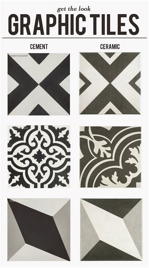 Graphic Tiles | encaustic graphic tiles at a fraction of the price lark