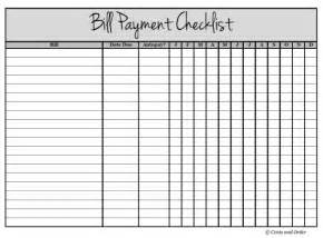 list of bills to pay template get your finances organized with a bill payment checklist