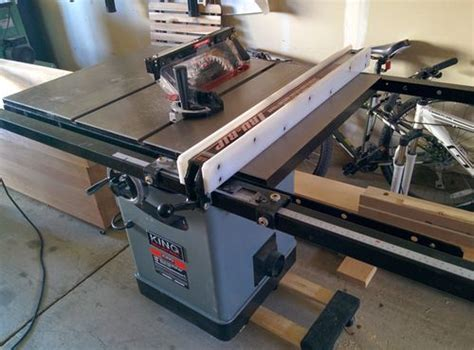 cing saw king kc 10jcs table saw review by making sawdust