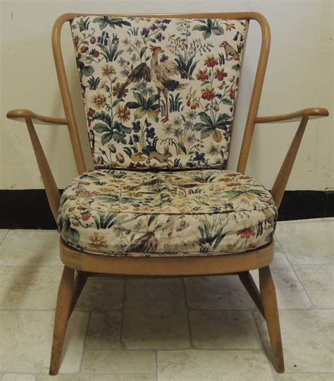 Ercol Armchair Cushions by Antiques Atlas Retro Ercol Beech Armchair