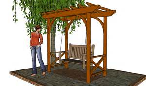 free pergola swing plans patio pergola plans free pergola plans how to build a
