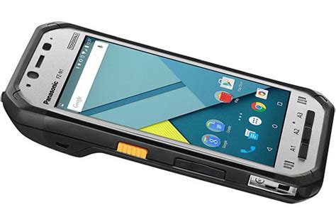 panasonic rugged phone fz n1 smartphone rugged panasonic con barcode integrato
