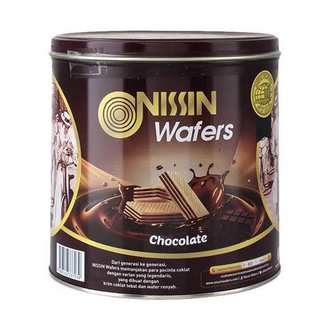 Harga Wafer by Jual Nissin Wafer Chocolate 570 G Harga