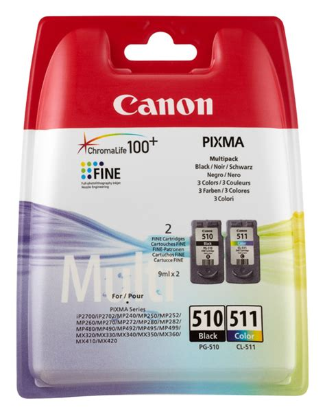 Original Canon Druckerpatronen 235 by Canon Original Pg510 Cl511 Tinte Patronen Pixma Mp250