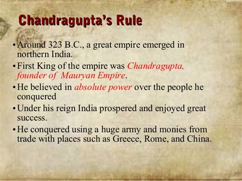 chandragupta biography in hindi maurya colg ppt
