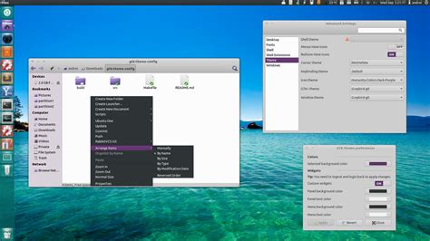 change themes in gnome customize gtk3 gtk2 theme colors using gtk theme