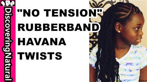 rubber band method braids twists  kids youtube