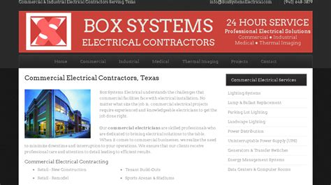 home improvement electrical contractor business plan