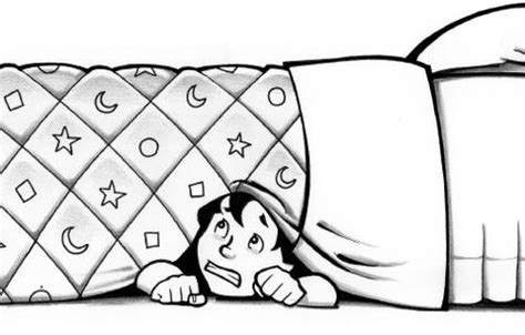 hiding under bed hiding under the bed clipart 5