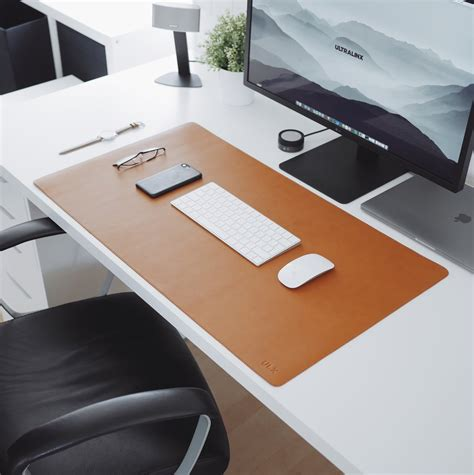 leather desk mat australia brown leather desk mat ultralinx store
