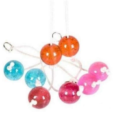Light Up Classic Clacker Balls On A String Toy Color May Light Up Balls On String