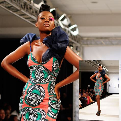 new stlyes of ganians lookbook mina evans for vlisco dazzling graphics