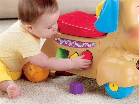 fisher price ride on puppy new fisher price baby learning ride on puppy toddler walker sound ebay