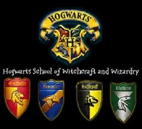 Four Houses Of Hogwarts by Harry Potter Hogwarts School Of Witchcraft And
