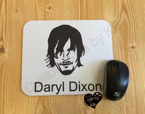 Mouse Pad Souvenir Daryl Dixon From The Walking Dead Mouse Pad Custom Gifts By Kb Llc