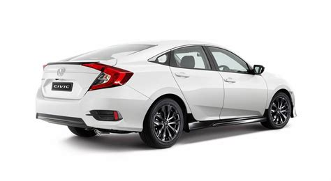 honda civic 2016 honda civic sedan gets sporty black pack option in