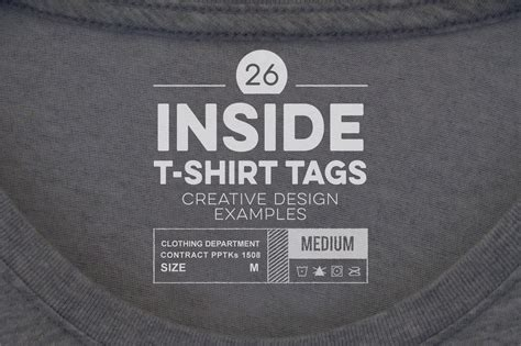 Articles Relating To Apparel Design Inside Shirt Tag Template