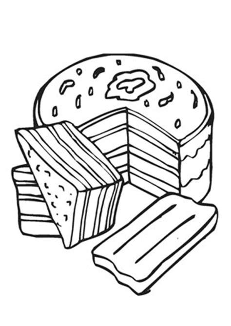 ausmalbilder kuchen ausmalbilder kuchen und torten beliebte rezepte f 252 r