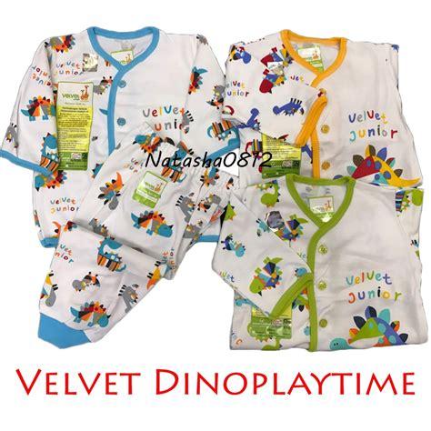 Velvet Junior Setelan Panjang velvet junior playfull setelan baju tidur piyama panjang