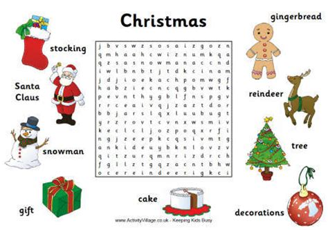 printable christmas word search with answers free christmas wordsearches puzzles and crosswords