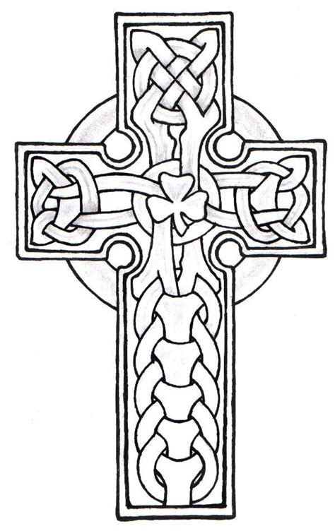 25 best ideas about celtic cross tattoos on