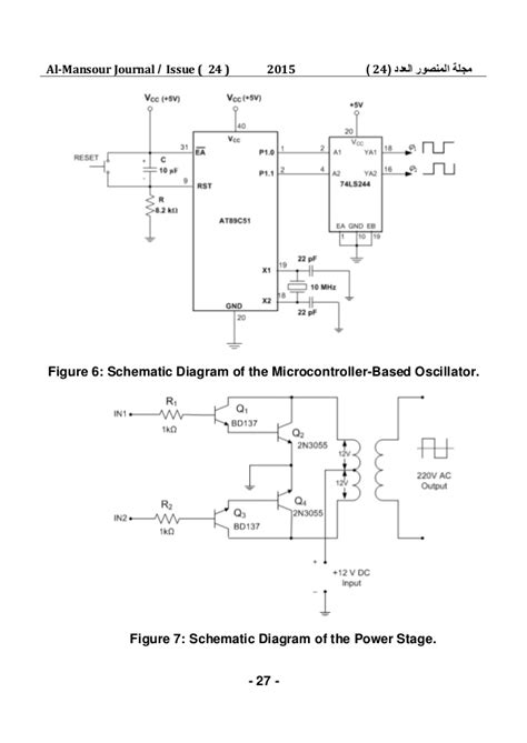 microcontroller based inverter circuit diagram design and implementation of a microcontroller based dc ac