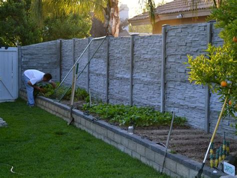 17 best ideas about concrete fence on decking ideas small garden design and modern