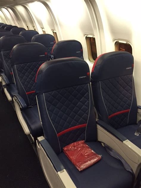 Delta Economy Comfort Perks by Look New Delta Comfort On Delta 767 Points