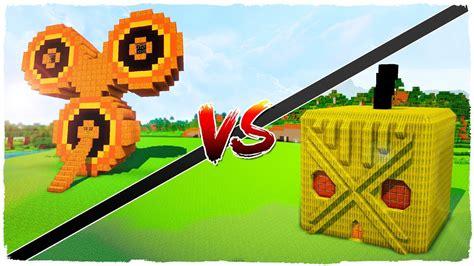 fidget house fidget spinner pumpkin house vs melon house minecraft