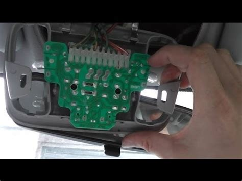 service manual 2000 volvo v40 overhead console repair
