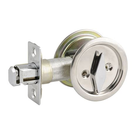 Sliding Door Lock by Security Polished Chrome Sliding Cavity Door Lock