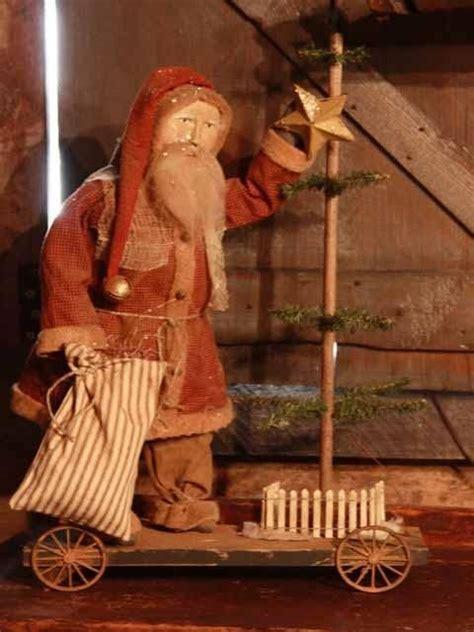 primitive christmas crafts to make 671 best images about primitive santas on
