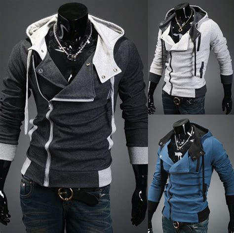 Vest Rompi Assasins Creed Chronicle assassin s creed 3 desmond hoodie costume coat jacket hoody t003 ebay