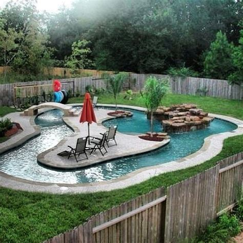 Extremely Amazing Swimming Pools Ideas My Own Lil Lazy River I Would So To This So Coollllll Lazy Rivers