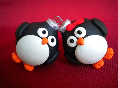 penguin christmas ornaments photo holders