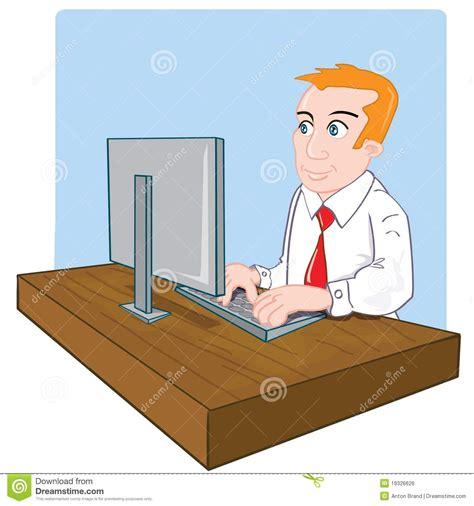 employe de bureau employ 233 de bureau de dessin anim 233 224 bureau
