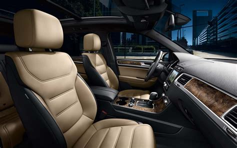Car Interior Upholstery Volkswagen Touareg Our 2018 Range Volkswagen Uk