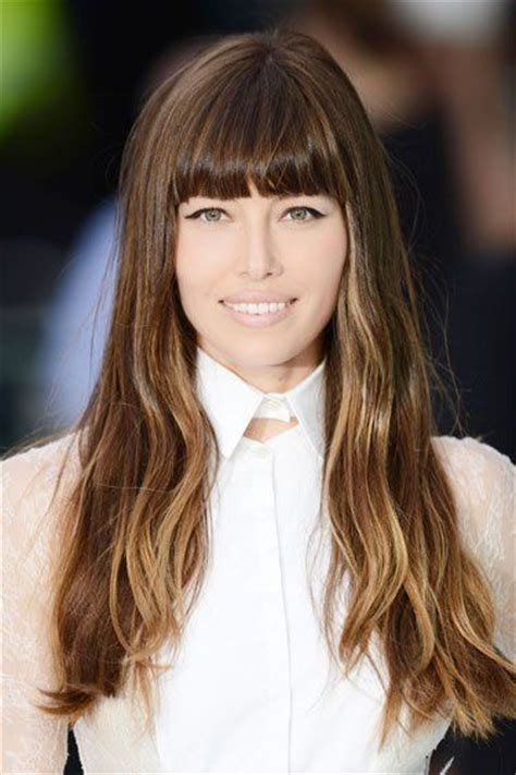 add bangs to your picture 28 best long brunette hair with bangs add ombre