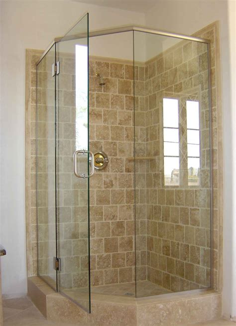 Bathroom Corner Showers Upstairs Bathroom Corner Shower Pinteres